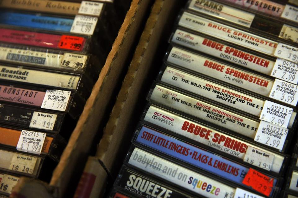 Cassette Tapes Are Having An Unlikely Moment The Boston